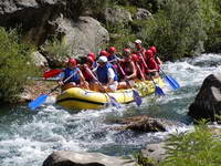 Rafting In Croatian River